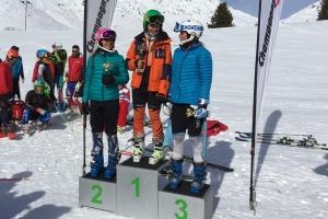 Béatrice 1ère U16 et Charlotte 2ème Grand Prix SL Champagny