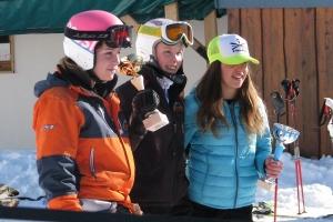 Charlotte 1ère U16 et1ère équipe fille Grand Prix SL Pralognan