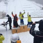 Podium combiné nordique 20 janvier 2018 - Jack Jardine 2ème place