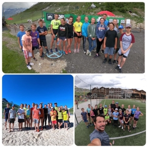 Stage de Tignes 3 photo de groupe en Juillet 2020