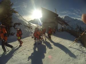 Prêt pour le slalom