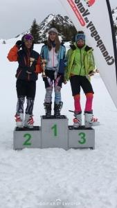 Charlotte 2ème place dans la Catégorie U16 au Grand Prix de Champagny